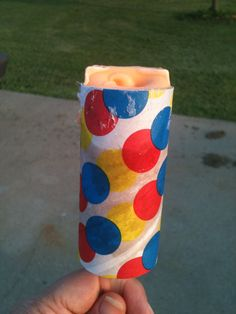 Nostalgia - Remember When?Orange sherbet push pops, drumsticks, and banana popsicles .