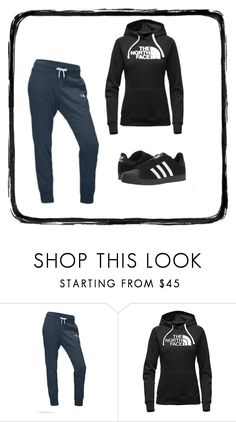 """""""14:01"""" by we-are-all-addicted on Polyvore featuring The North Face and adidas"""