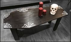 Funky home decor truly Easy image topic reference 9254418049 - Positively Dazzling funky room decor projects. Dark Home Decor, Goth Home Decor, Gothic Furniture, Home Furniture, Horror Room, Horror Decor, Horror Crafts, Spooky House, Funky Home Decor