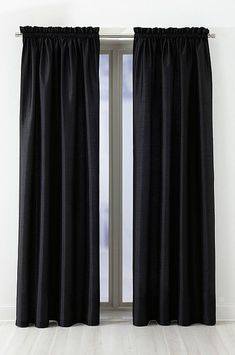 black curtains for the living room, from jotex