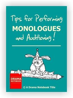 Four pages of tips that will help your students prepare to perform monologues or audition like a pro! Auditions For Kids, Monologues For Kids, Acting Tips, Acting Career, Drama Class, Drama Games, Visual And Performing Arts, Script Writing, Club Kids