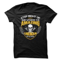 Awesome Lineman T-Shirts, Hoodies. ADD TO CART ==►…