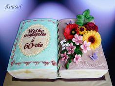 kniha s kvetinami