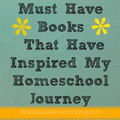 Must Have Homeschool Books - I own some of these too.