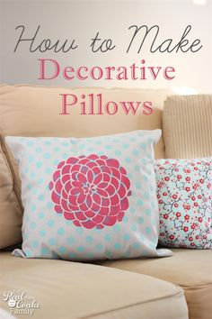 More Fun with Decorative Pillows