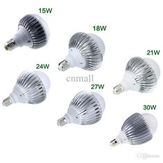 New Bright A19 E27/E26 Globe LED Bulb Light Lamp 85-265V 15W/18W/21W/24W/27W/30W High Power Led Bulb 180 Degree Super Bright Lamp Online with $16.91/Piece on Cnmall's Store   DHgate.com