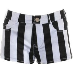 Rare London Vertical Stripe Shorts