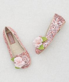 Look what I found on #zulily! Rosie Sequins Loafer & Hair Clip - Kids #zulilyfinds