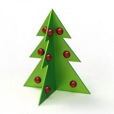 Árbol de Navidad en 3D
