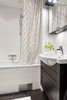 Zasłony prysznicowe. Bathroom shower curtains design ideas.
