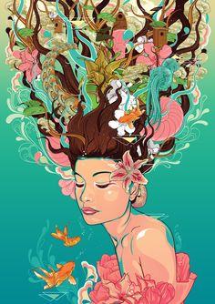Odessa Full Bloom by Aseo.deviantart.com