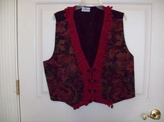 upcycled vest by pmcglone on Etsy, $15.00