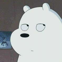 ice bear ~ tired of shit