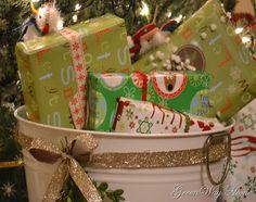 buckets of presents