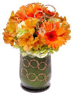 Orange U Glad It`s Spring San Marcos, TX Florist - The Floral . Orange Things orange u glad Tropical Floral Arrangements, Christmas Floral Arrangements, Fall Arrangements, Florist Supplies, Floral Foam, Seasonal Flowers, Flower Quotes, Corsage, Wedding Bouquets