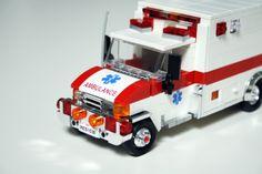- Lego Cars and Trucks - Police Car, Ambulance, Fire Engine Lego City Fire Truck, Fire Trucks, Lego City Sets, Lego Sets, Ambulance Truck, Bateau Lego, Lego Car, Lego Police, Lego Boards