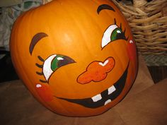 Cute Pumpkin Faces | ... . Use basic colors or not-so-basic. It's your pumpkin, be creative
