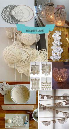 1000 Id Es Sur Le Th Me Lampe Napperon Sur Pinterest Artisanats De Napperon Napperons Et Abat