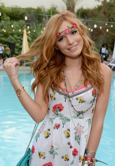 What do you think about Bella Thorne's festival look? Check out photos of stars celebrating Coachella on POPSUGAR.com!