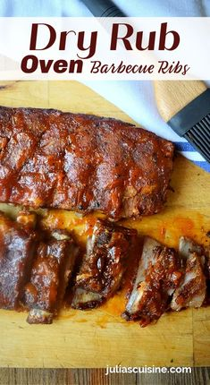 Barbecue Ribs, Barbecue Sauce, Ribs In Oven, Game Day Food, Pork Dishes, Disappointed, Poultry, Turkey, Beef