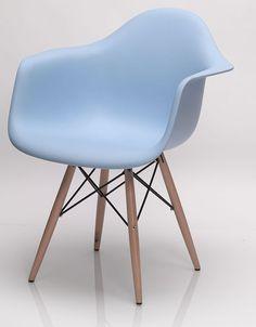 cool Salle à manger - Chaise de salle à manger design HECTOR, coloris bleu, noir ou blanc, Chaise de ...