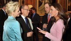 Kate et Charlène, la rencontre.