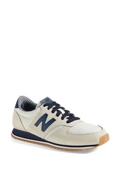 New Balance 420 Tomboy Sneaker Beige Blue 65 B New Balance 420, New Balance Women, Me Too Shoes, Men's Shoes, Shoes Sneakers, Sneakers Women, Retro Sneakers, Suede Shoes, New Balance Sneakers