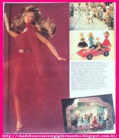 Boneca Barbie Estrela, 1982, Revista Manchete, chegada da Barbie ao Brasil #Estrela #Manchete