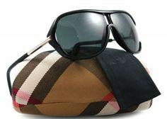 Óculos Burberry Women's Sunglasses BE 4101 300187 Shiny Black 64MM #Burberry#Óculos