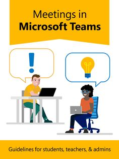 Creating, attending, and running meetings while using Teams for distance learning Classroom Attendance, Classroom Norms, Classroom Expectations, Online Classroom, Team Teaching, Student Teaching, Microsoft Classroom, Canvas Learning, Team Online