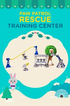 The 12 Day of Nick Jr. Holiday Sweepstakes is coming and this PAW Patrol Rescue Training Center is just one of the 78 prizes!