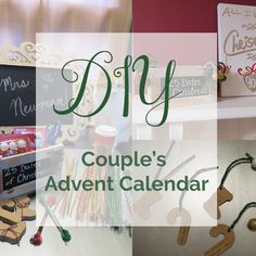 Make Your Own Couples Advent Calendar, DIY Advent Calendar, 25 Dates of Christmas, Winter Dates, Winter Activities for Couples
