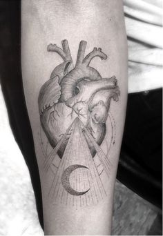 Known for his unique spin on black and grey, Dr. Woo's IG will keep you on your toes to see where his style is headed next! #InkedMagazine #blackandgrey #tattoo #tattoos #Inked #ink #art #heart