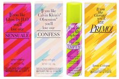 Designer Imposters. Primo was my first perfume ever and I thought I was so growny like my mom!