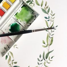 I hope you're all having a lovely weekend. There is still a couple of tickets left for my watercolour wreath workshop next Sunday. This workshop is perfect for calligraphers, stationers, brides designing their own wedding stationery or anyone who likes pretty stuff. Painting watercolour wreaths is definitely the most relaxing meditative thing you can paint in my opinion.  You can find a link to workshops in my bio. #watercolor #watercolour #watercolourworkshop #emmablockworkshop…