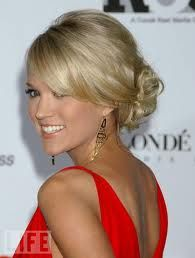 """I should just have a board that is """"Carrie Underwood hairstyles"""" lol"""