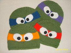 TMNT! I gotta brush up on my crochet skills pronto!