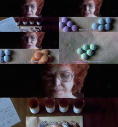 """""""Requiem for a Dream"""" by Darren Aronofsky ~ Sarah Goldfarb and her uppers. Series Movies, Film Movie, Movies Showing, Movies And Tv Shows, Requiem For A Dream, Darren Aronofsky, Film World, Still Frame, Extreme Close Up"""