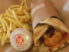 ALBAiK's Shrimp Sandwich needs a bit of tweaking but decent if you're looking for something other than fried chicken :)