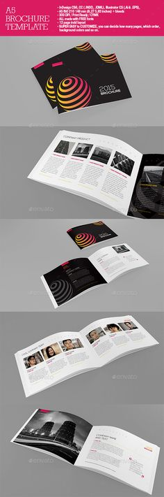 A5 Brochure Template. Download: http://graphicriver.net/item/a5-brochure/11216932?ref=ksioks