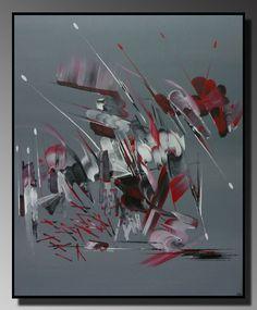 peinture abstraite L'effet papillon