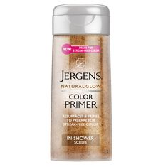 10 drugstore products you probably aren't using—but definitely should be: Jergens color primer shower scrub