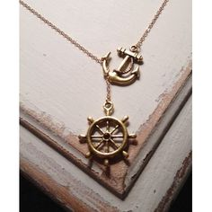 anchor and steering wheel     by Other