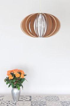 AssembLIT range of laser cut wooden light fittings : easy self assemble Electrical Stores, Mahogany Stain, Bedside Lighting, White Stain, Light Fittings, Pendant Lighting, Bulb, Range, Ceiling Lights