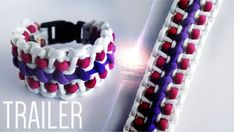 Wide Modified Pulsar Paracord Bracelet Trailer - YouTube