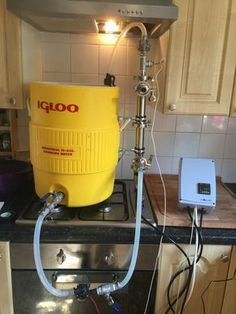 In this post, I will show you how I made a basic Igloo Cooler RIMS Brewing System.