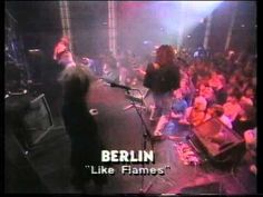 Berlin - Like Flames (Live)  Great 80s band that actually sang live.  That's a nice touch.