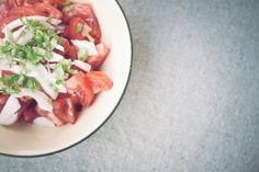 Tomatoes salad-Cookbook Foto
