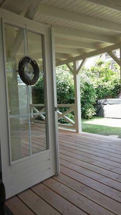 Onze nieuwe veranda, kan niet wachten op de meubeltjes!! Dat worden mooie lange avonden, genieten!!