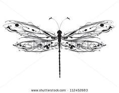 Dragonfly Stock Vector 86038993 : Shutterstock